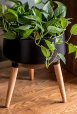 Style In Form Planter SIF Circa Mood Matte Black AGW-007