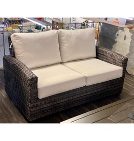 Ratana Ratana Coral Gables Love Seat FN59072WTR/C Linen Canvas