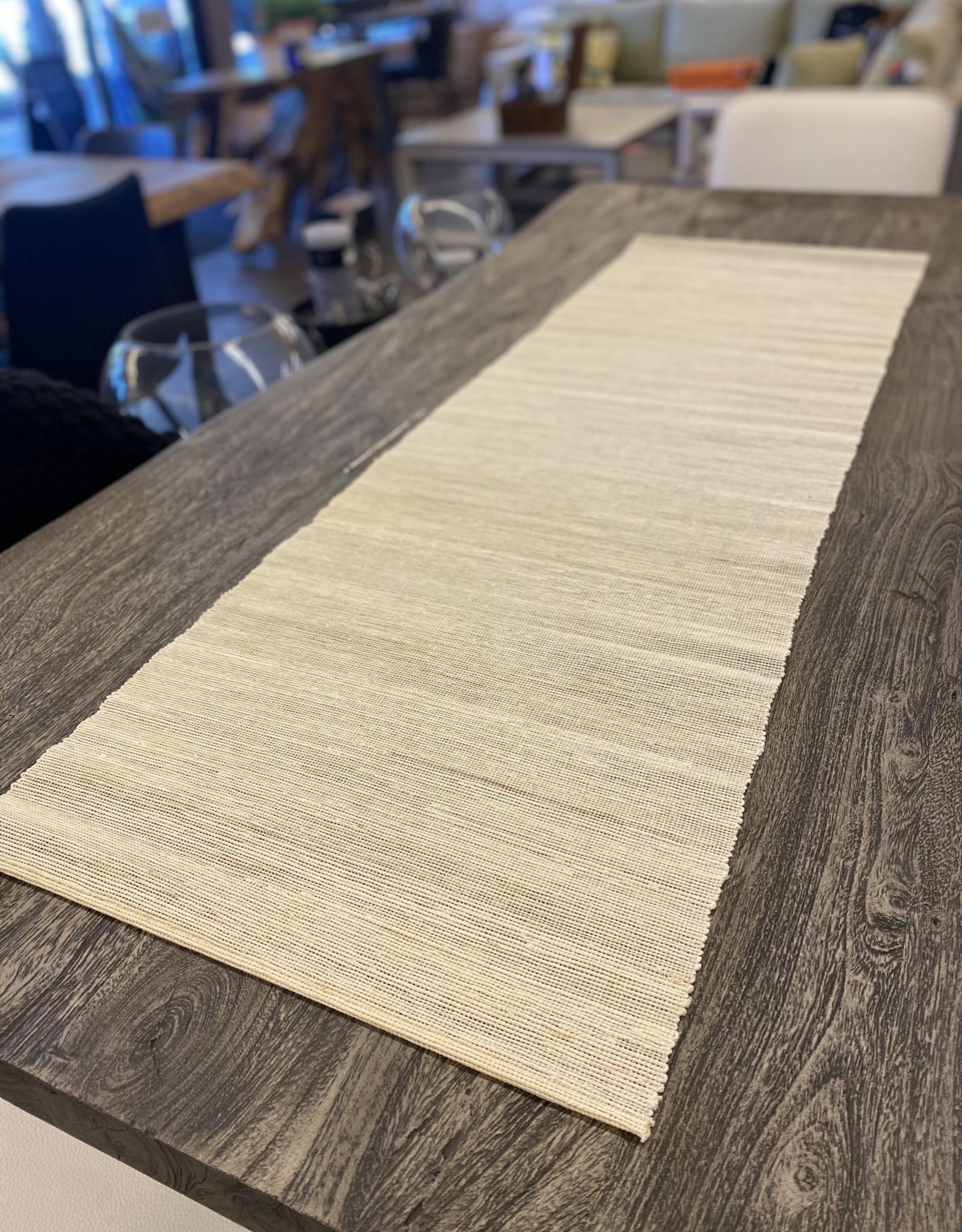 Table Runner Candym Linen Cream E09788