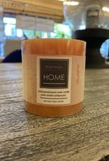 Candle Harman Rustic 3 x 3 Orange 3323316
