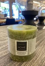 Candle Harman Rustic 4 x 4 Green 3324428