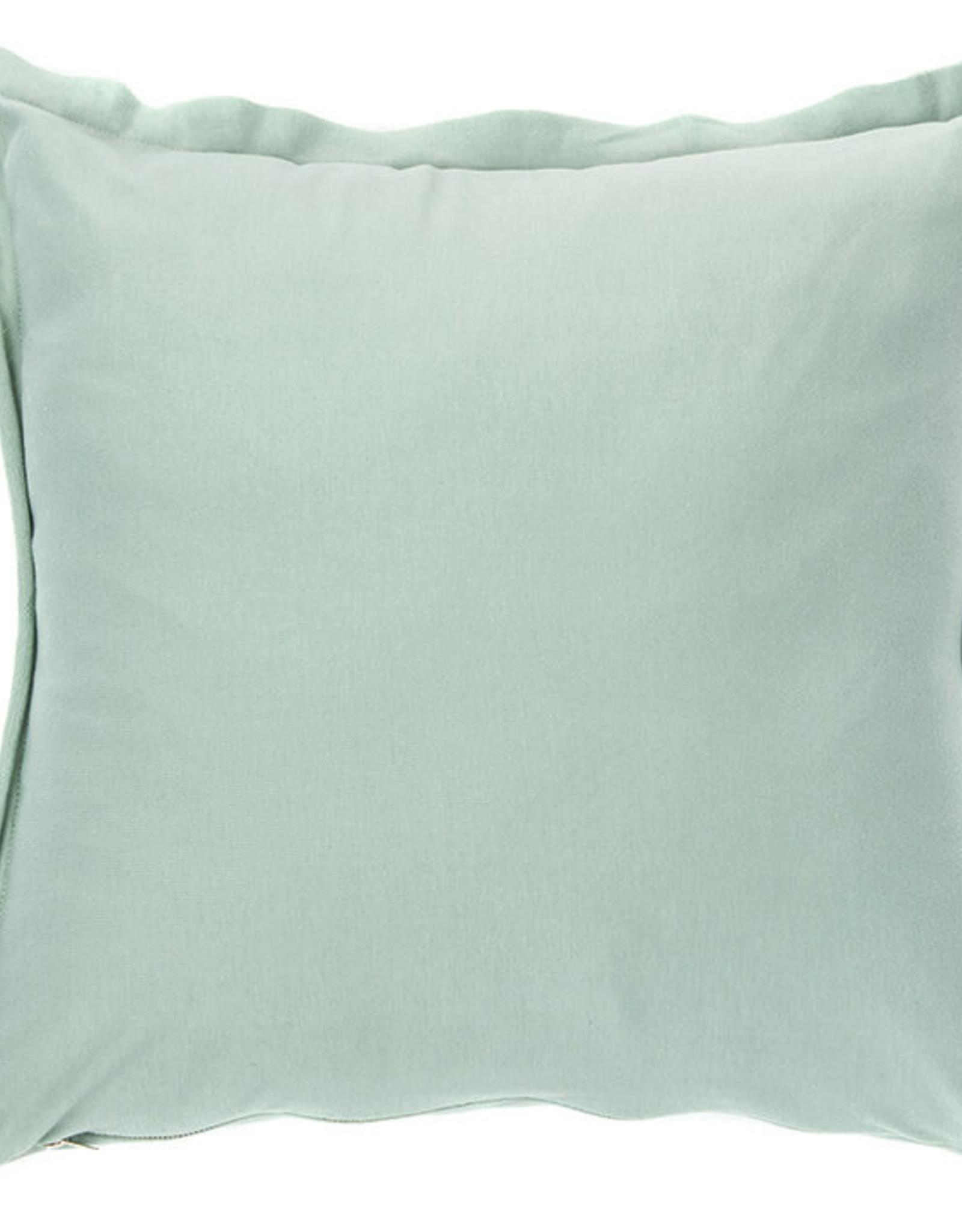 Cushions Brunelli Hoodie Sage 18 x 18
