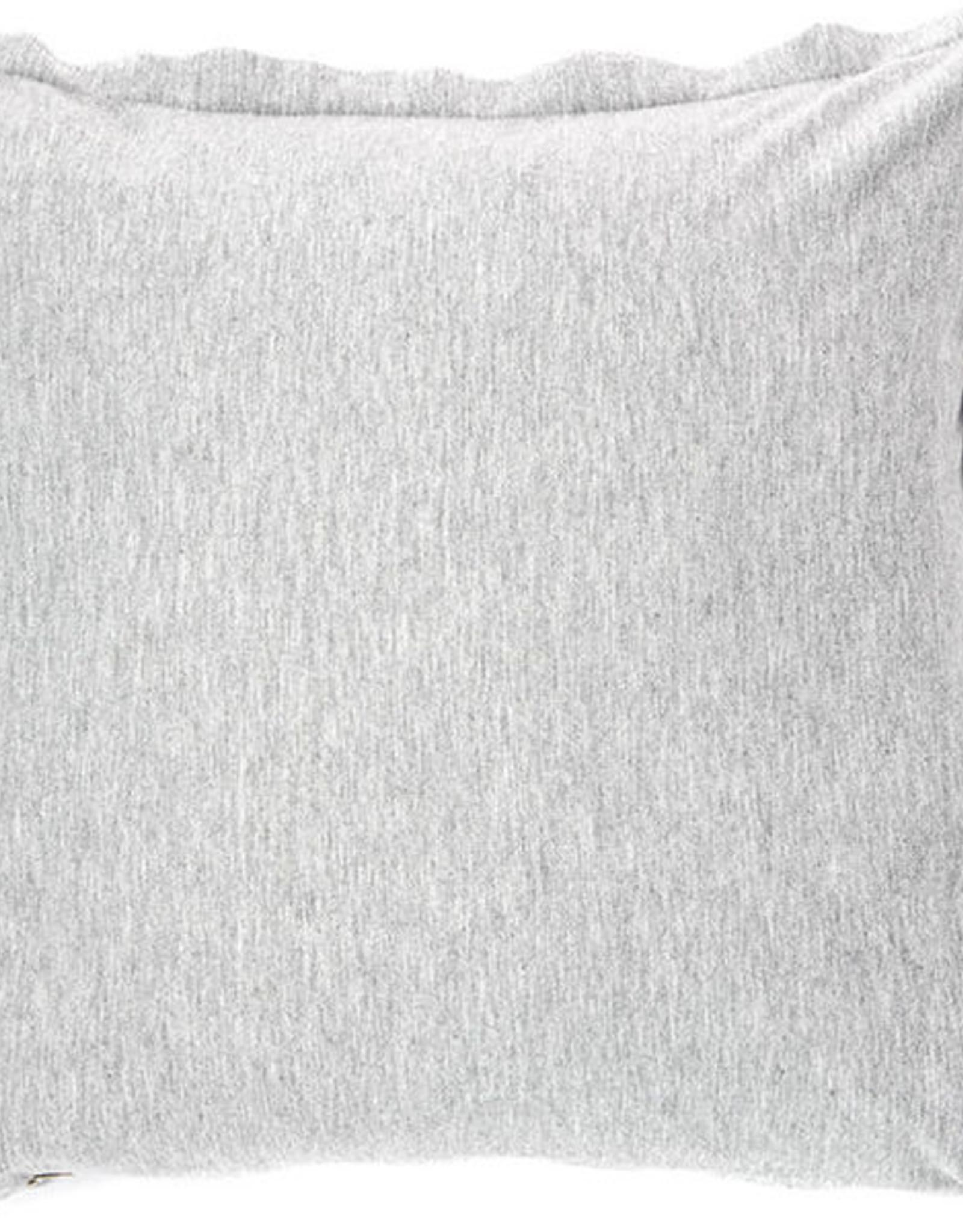 Cushions Brunelli Hoodie Grey 18 x 18