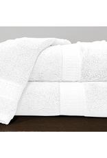 Alamode Home Bath Sheet RJS Bamboo White