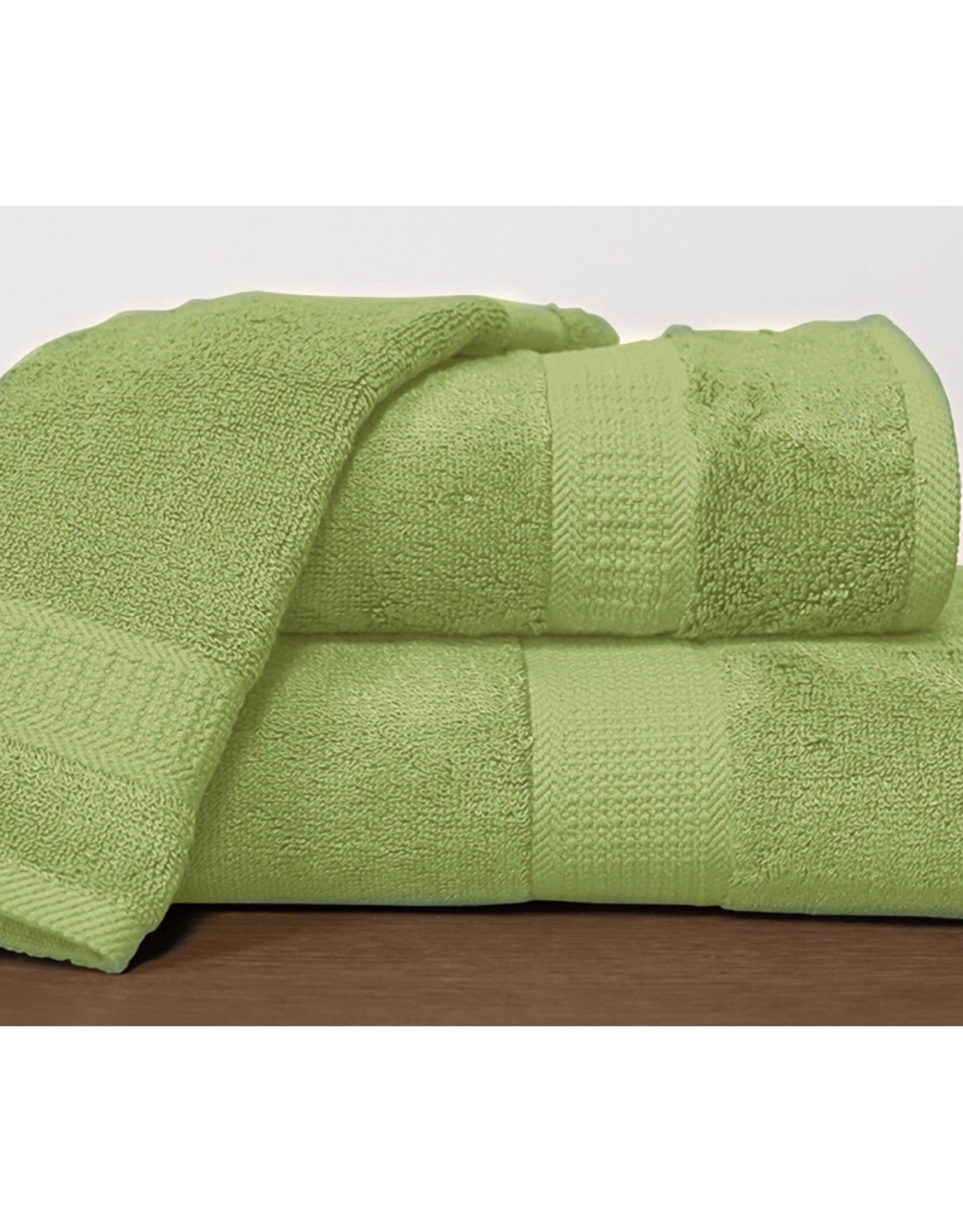 Alamode Home Hand Towel RJS Bamboo Pine Green