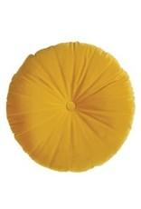 """Cushions Brunelli Mandarin Yellow Round 15"""""""