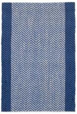 Rugs PC Woven Jute Blue/White/Black 2'x 3'
