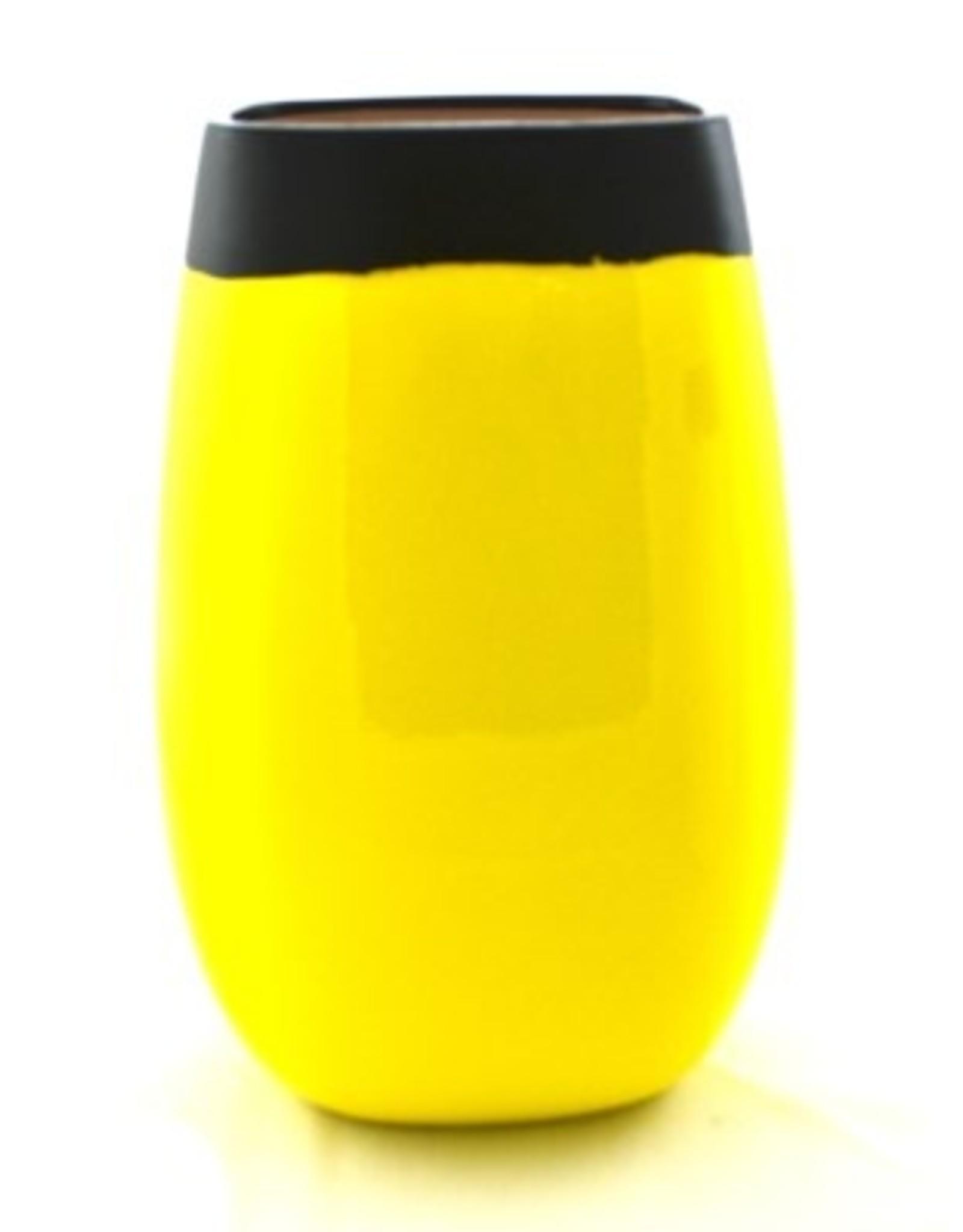 """Nostalgia Vase Nostalgia Paco Yellow 10"""" 671-067"""
