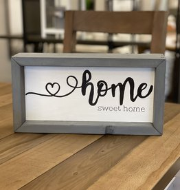 Mountain Momma Home Design Signs MMHD Home Sweet Home - Grey