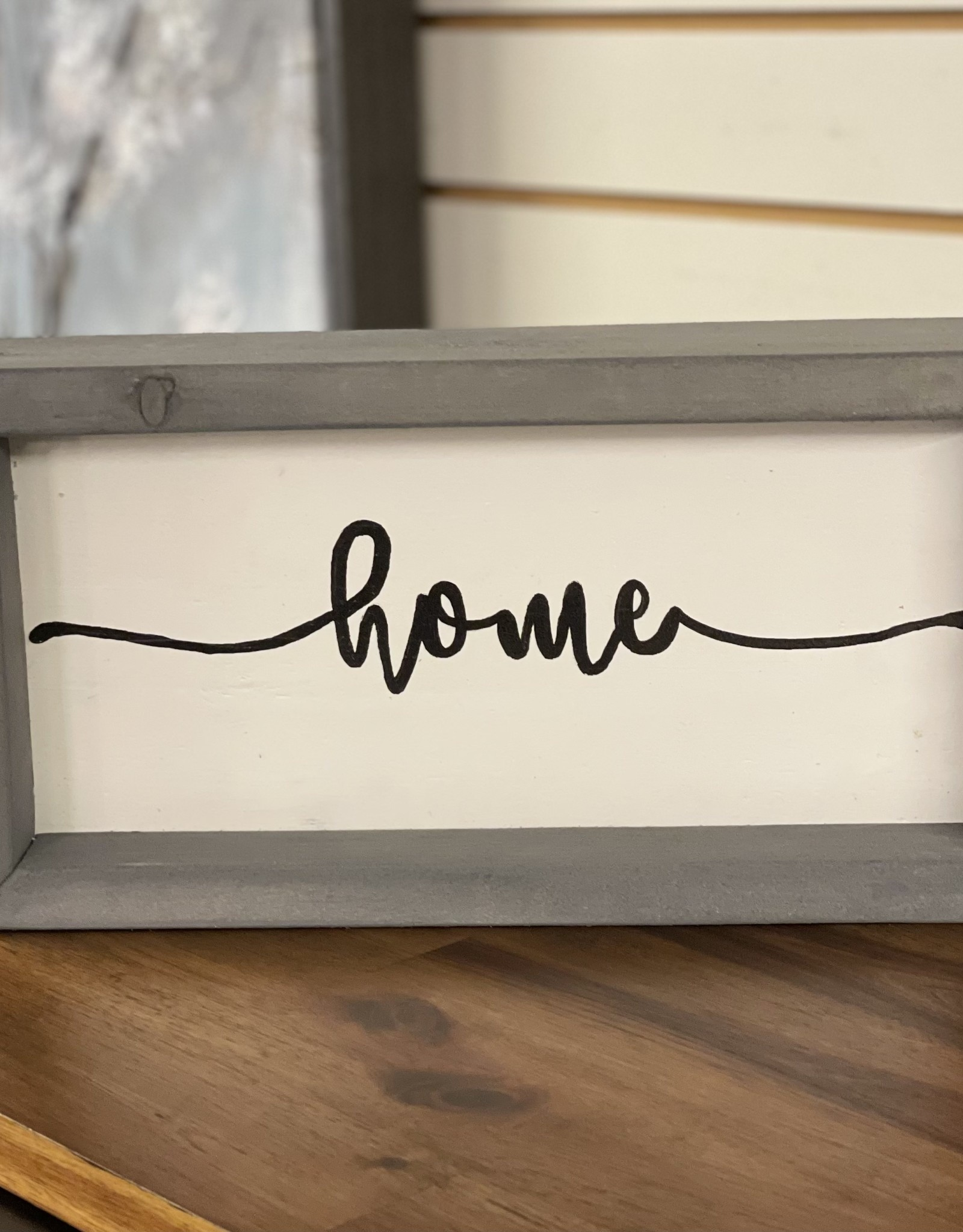 Mountain Momma Home Design Signs MMHD Home - Grey