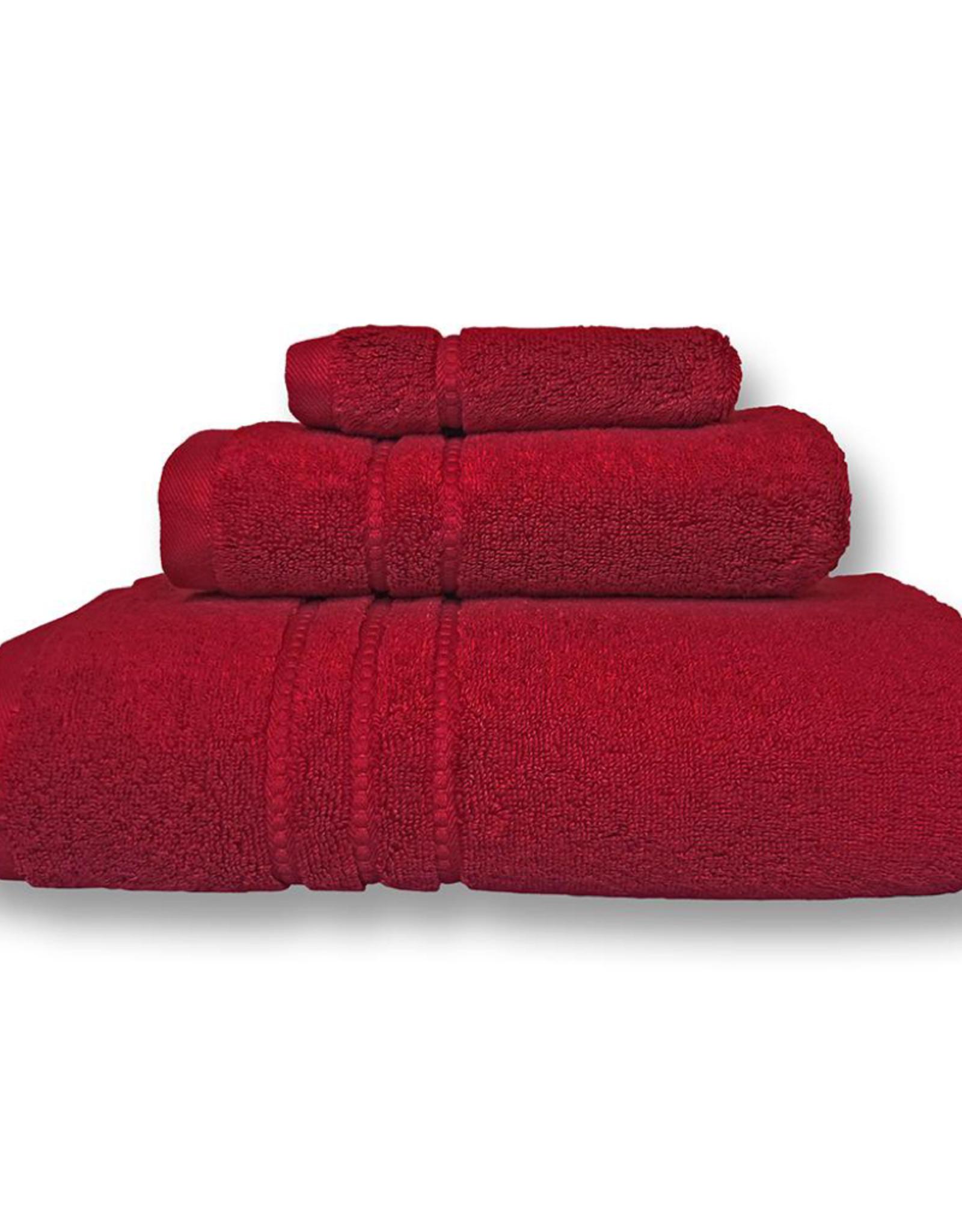 Cuddle Down Face Cloth Cuddledown Portofino Claret 25