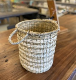 Basket PC Seagrass & Palm Small