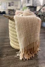Basket PC Seagrass & Palm Large