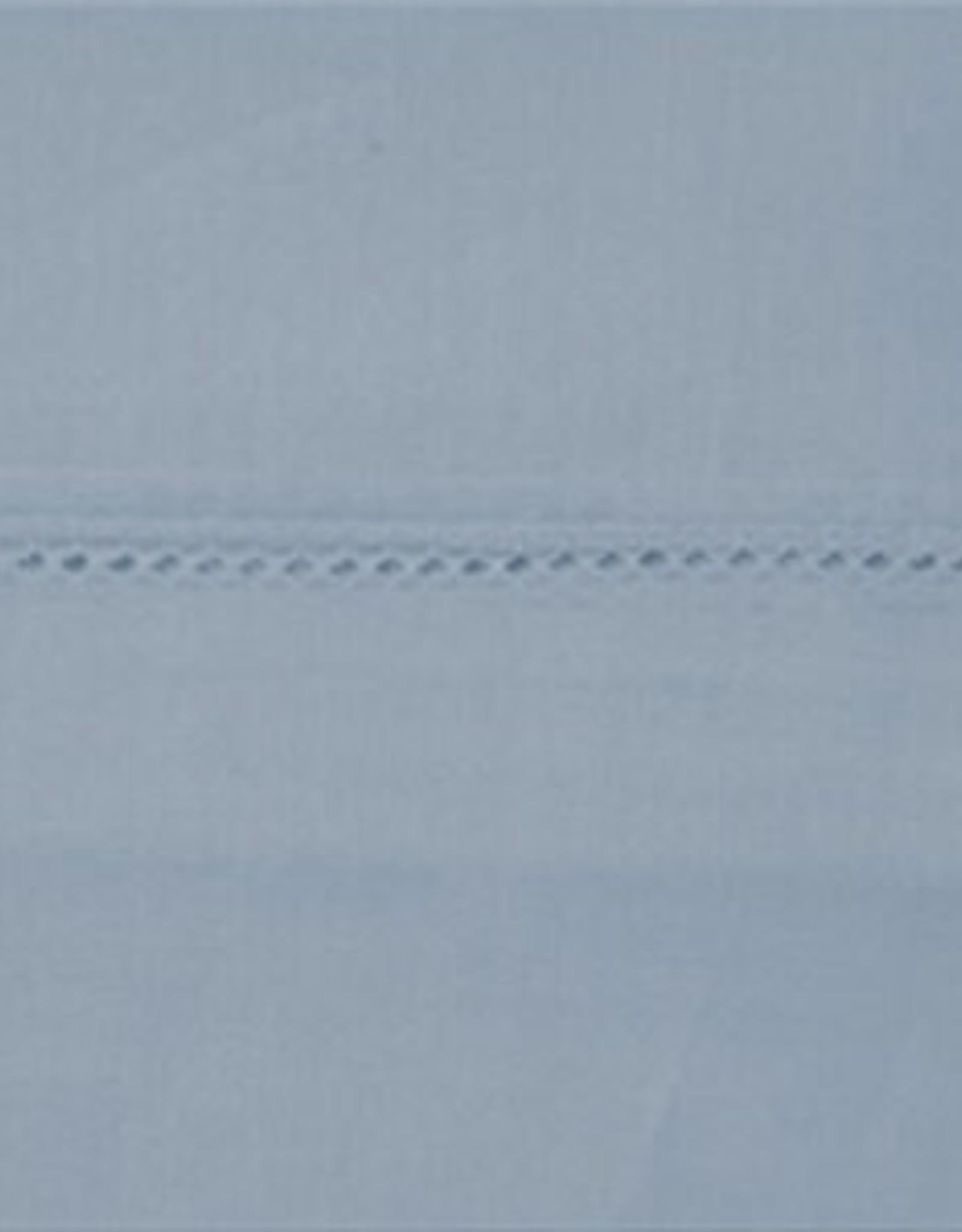 "Daniadown Sheets Daniadown Egyptian 400 King 18"" Fitted Arctic Blue"