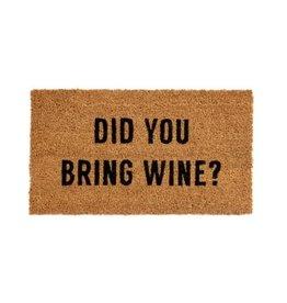 Indaba Doormat Indaba Did You Bring Wine 1-5852