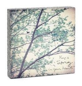 Cedar Mountain Cedar Mountain Art Block Keep a Song  LF5191
