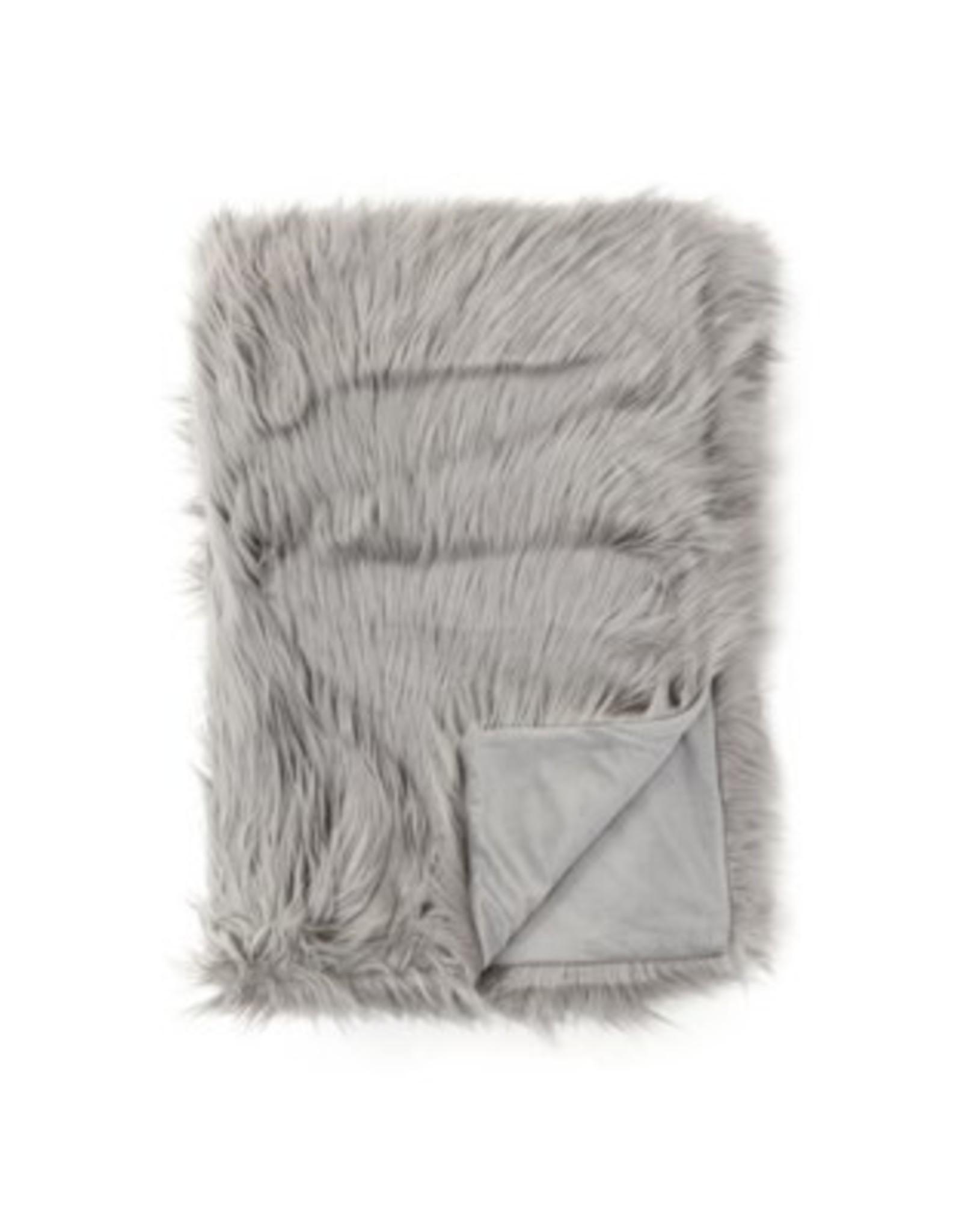 Throw PC Fuzzy Grey 50x60 8950075