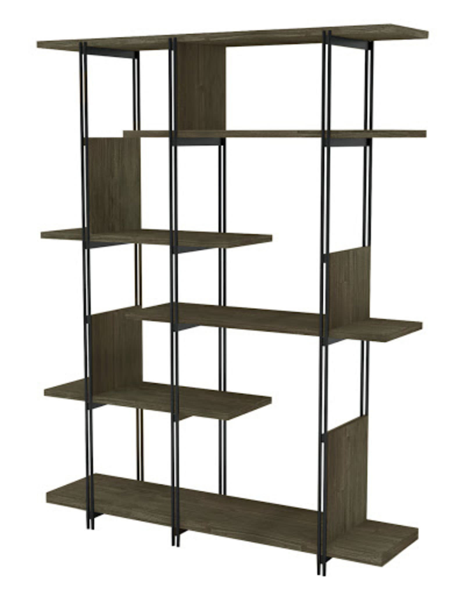 LH Imports LH Levi Large Bookcase LEV020**