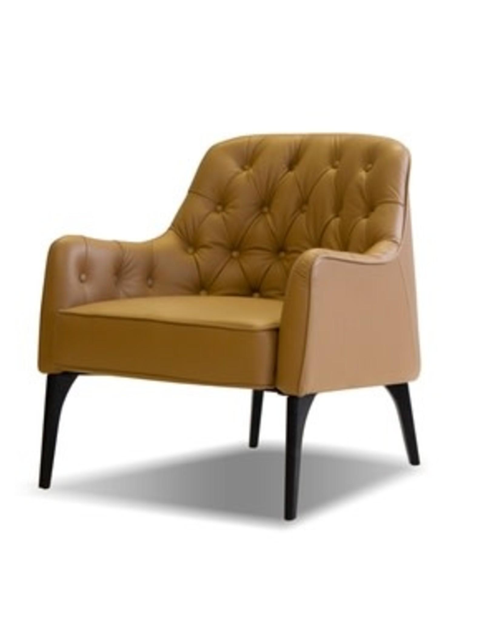 Mobital Mobital Ellington Club Chair Caramel Leather