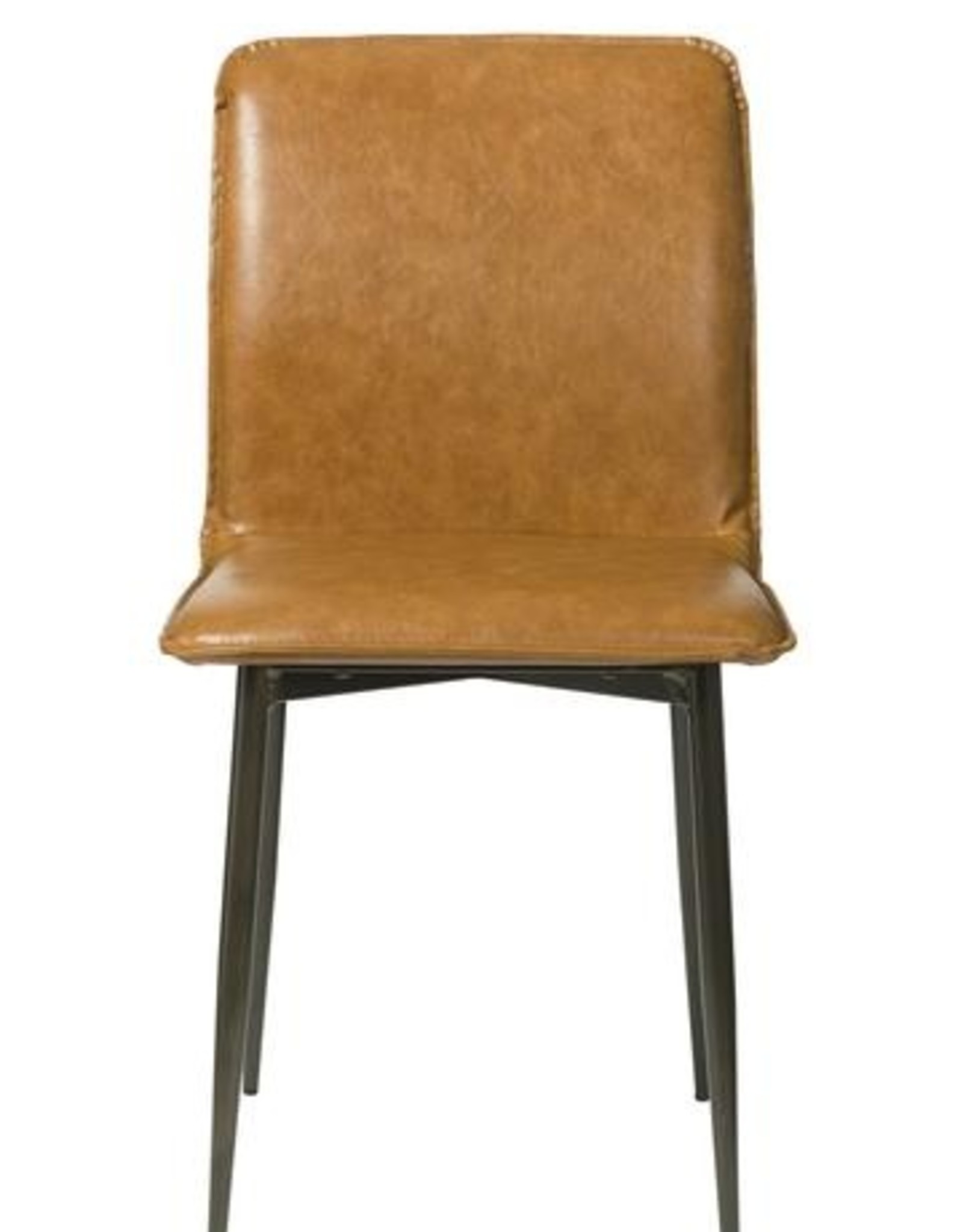 LH Imports LH Luca Dining Side Chair Tan Brown CR001-TB