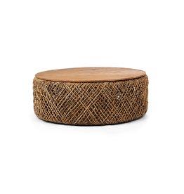 LH Imports LH D-Bodhi Knut Coffee Table Wood / Ratan DBA99
