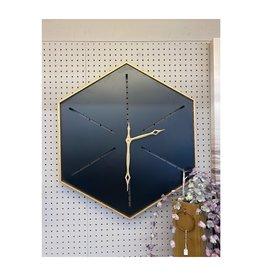 Clocks CJ Hexagon Wall