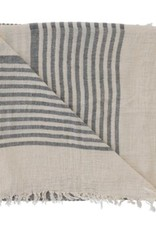Pokoloko Turkish Towel Pokoloko Sarah Black TTSA2