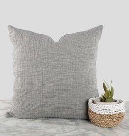 """Pokoloko Cushions Pokoloko Crinkle Charcoal 20 x 20"""" BR-CP6"""