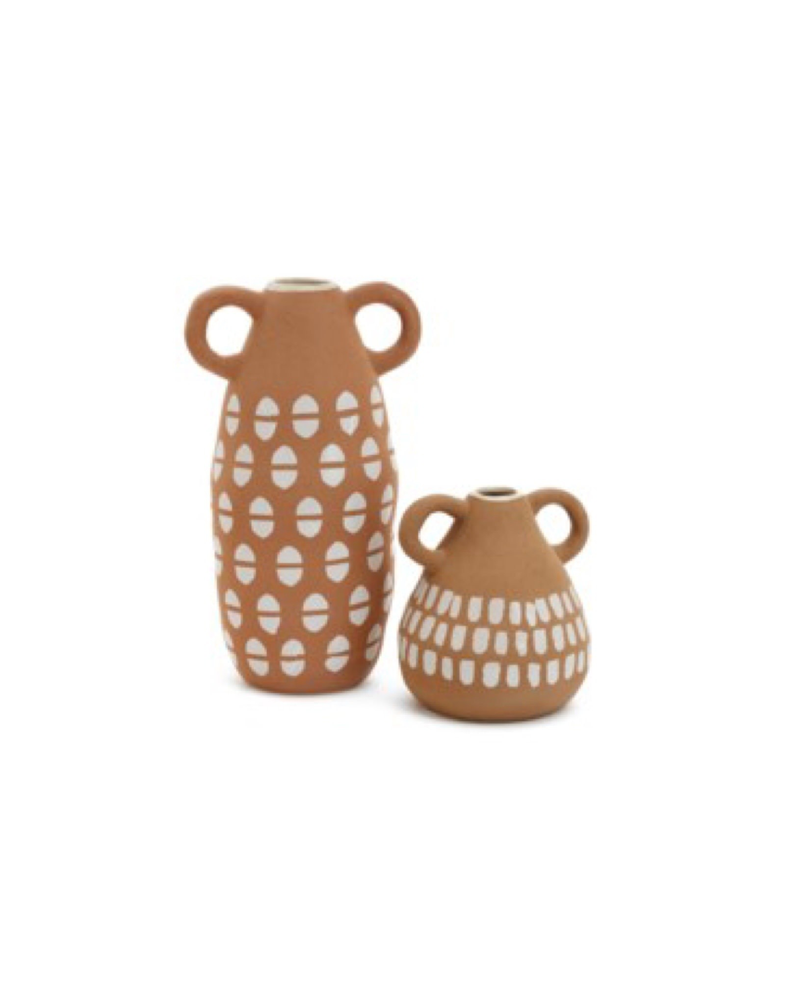 Vase PC Cera Loop Handles Small