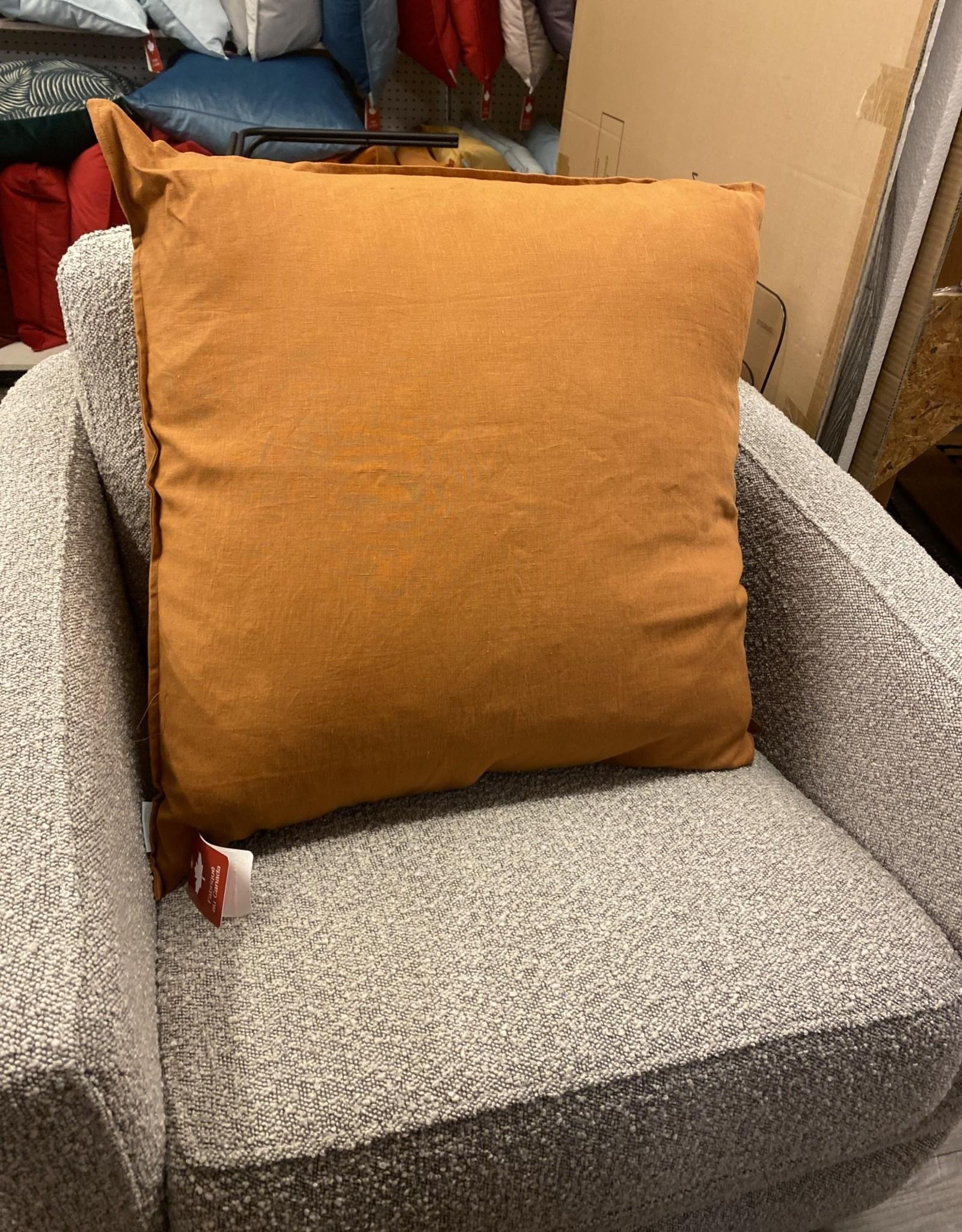 Daniadown Cushions Daniadown French Linen Ginger Euro 26 x 26