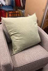 Daniadown Cushions Daniadown French Linen Green Tea Euro 26 x 26