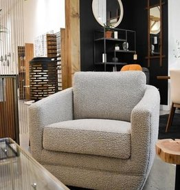 LH Imports LH Baltimo Swivel Club Chair