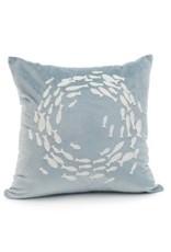 Cushions PC Fish Light Blue 18 x 18 1440011