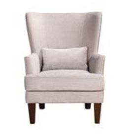 Moes Home Collection Moes Prince Arm Chair Grey Velvet RN-1080-15
