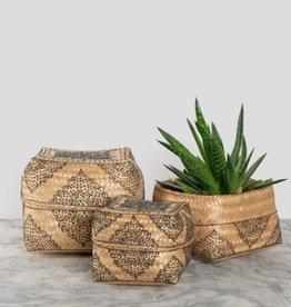 Pokoloko Boxes Pokoloko Henna Bamboo Black/Natural LG