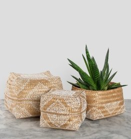 Pokoloko Boxes Pokoloko Henna Bamboo White/Natural SM