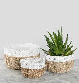 Pokoloko Basket Pokoloko Bowl White/Natural LG