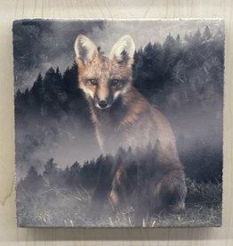 Cedar Mountain Cedar Mountain Art Block Forest Fox LF4319