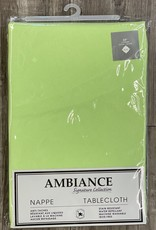 """Table Cloth Tex Styles Soft Touch Green 60"""" x 108"""""""