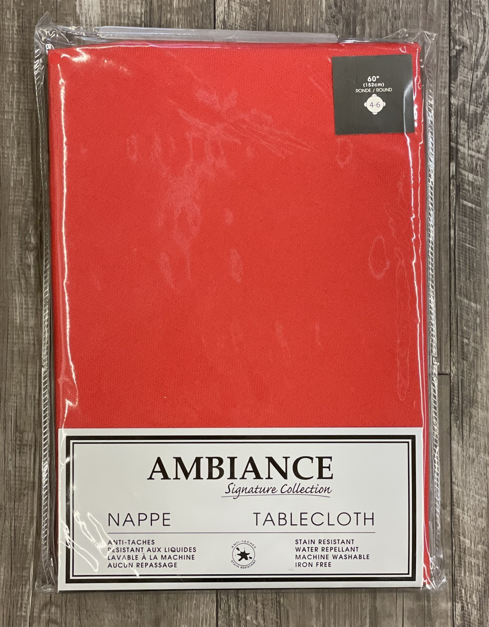 Napkins Tex Styles Soft Touch Red Set/4