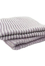 Dish Cloth Brunelli Janette Lilac Striped Knitted S/2