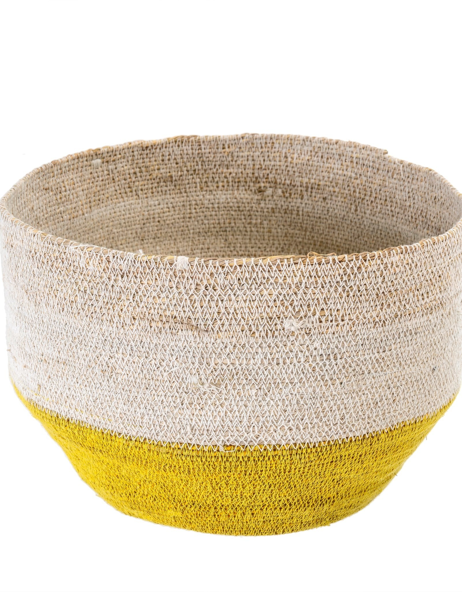 Indaba Basket Indaba Capri Yellow 1-5407
