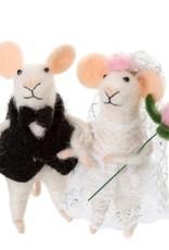 Indaba Xmas Indaba Ornament Newlywed Mice