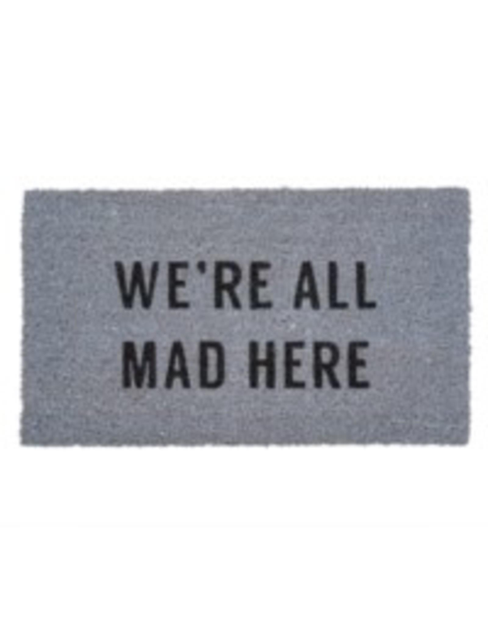 Indaba Doormat Indaba All Mad Grey