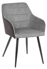 Cathay Cathay Justine Arm Dining Chair Grey 01-2000