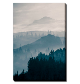 Streamline Art Blue Mountains I 38 x 60