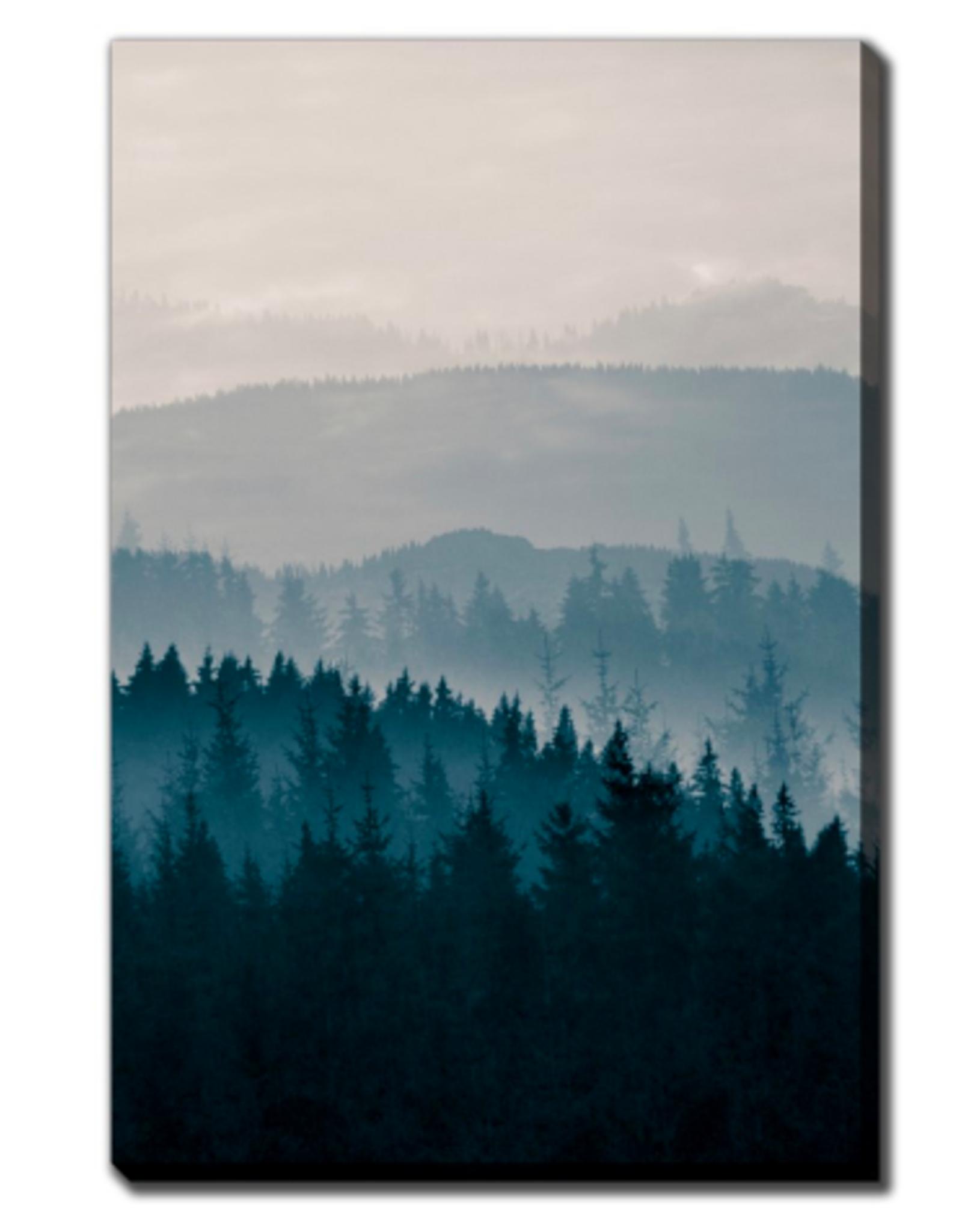 Streamline Art Blue Mountains II 38 x 60