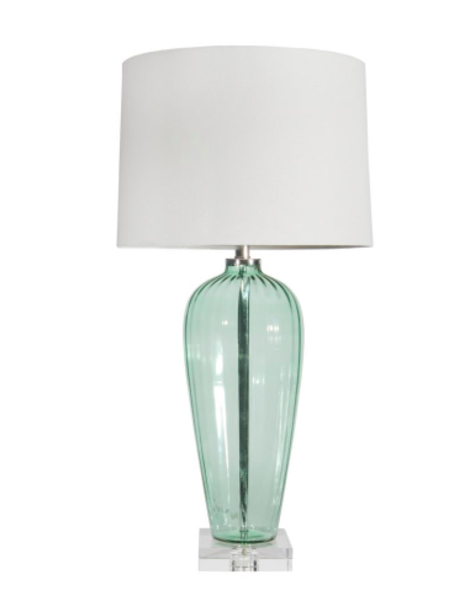 """Lamp Canfloyd Aqua/Clear 33"""" CL7821"""