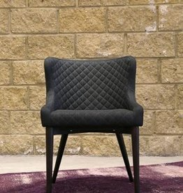 LH Imports LH Mila Dining Chair FZ03DG Dark Grey
