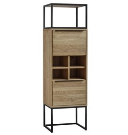 Moes Home Collection Moes Nevada Tall Bar Cabinet UR-1003-03